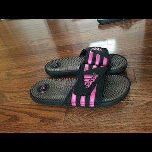 Adidas Slides with logo